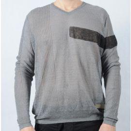 Pánský svetr Calvin Klein šedá
