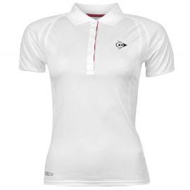 Polokošile Dunlop Performance Polo Shirt Ladies White