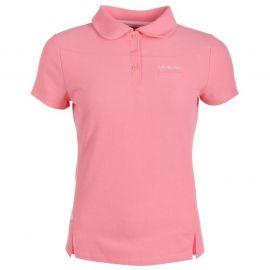 Polokošile LA Gear Pique Polo Shirt Ladies Pink