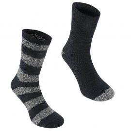 Ponožky Giorgio 2 Pack Lounge Socks Mens Black