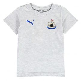 Puma Newcastle United Fan T Shirt Infant Boys Grey