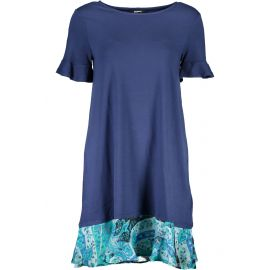 Šaty DESIGUAL krátké Šaty BLU