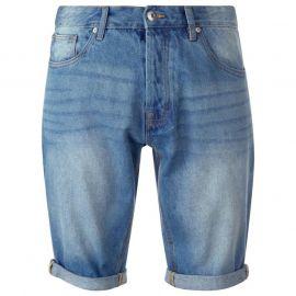 SoulCal Denim Shorts Mens Light Wash