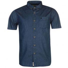 SoulCal Printed Shirt Mid Blue Dot