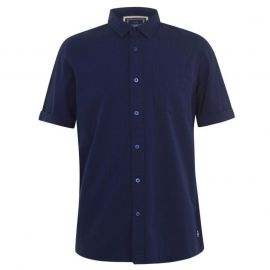 SoulCal Stripe Shirt Mens Navy