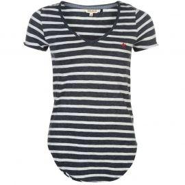 SoulCal Yarn Dye Striped T Shirt Navy/White