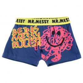 Spodní prádlo Character Mr Single Boxer Junior Mr Messy