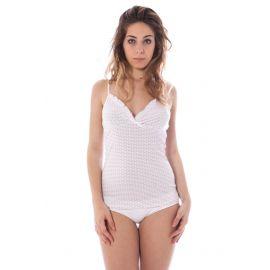 Spodní prádlo DATCH tričko s krátkým rukávem BIANCO
