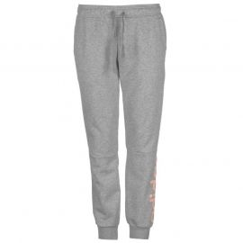 Sportovní kalhoty adidas Linear Closed Hem Sweat Pants Ladies DrkGrey/Magen