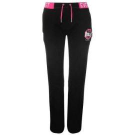 Sportovní kalhoty Everlast Open Hem Interlock Pants Womens Black