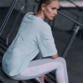 Sportovní kalhoty Puma Closed Hem Jogging Pants Ladies Grey