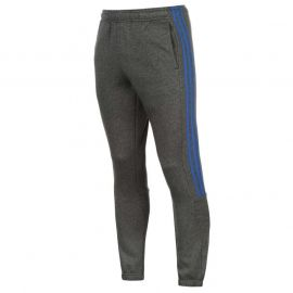 Tepláky adidas 3 Stripe Sweat Pants Mens DkGrey/Blue