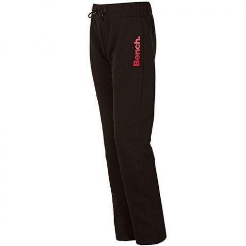 Tepláky Bench Womens Open Minded Pants Black Red