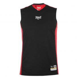 Tílko Everlast Basketball Jersey Mens Black/Red