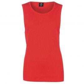 Tílko Giorgio Ribbed Vest Mens Bright Red