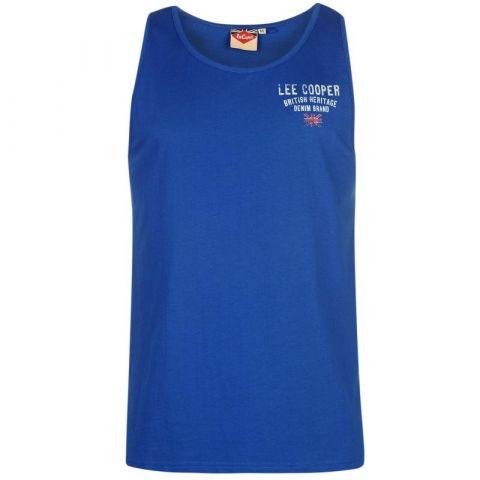 Tílko Lee Cooper Fashion Vest Mens Royal Blue