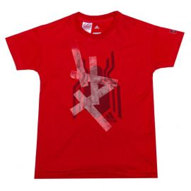Tričko Adidas Performance Infant Boys Spiderman T-Shirt Red