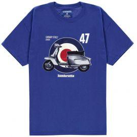 Tričko Lambretta 47 T Shirt Deep Royal