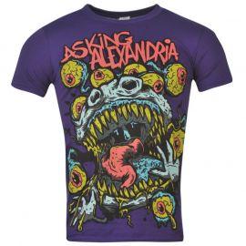 Tričko Official Asking Alexandria T Shirt Mens Eyeball