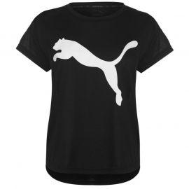 Tričko Puma Urban Sports T Shirt Ladies Black/White