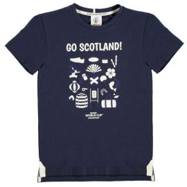 Tričko Rugby World Cup 2019 Go Team T Shirt Junior Boys Scotland