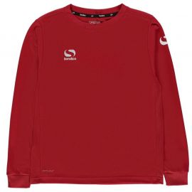 Tričko Sondico Classic Long Sleeve T Shirt Junior Boys Red
