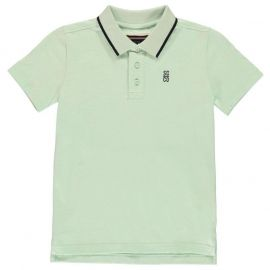 Tričko SoulCal Signature Polo Junior Boys Mint