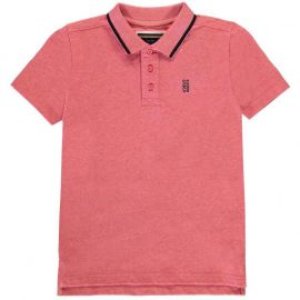 Tričko SoulCal Signature Polo Junior Boys Pink Marl