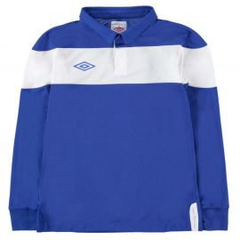 Tričko Umbro Jersey Junior Boys Royal/White