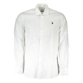 U.S. POLO ASSN. košile s dlouhým rukávem BIANCO