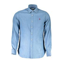 U.S. POLO ASSN. košile s dlouhým rukávem BLU