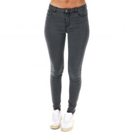 Vero Moda Womens Julia Flex It Slim Jeggings Grey